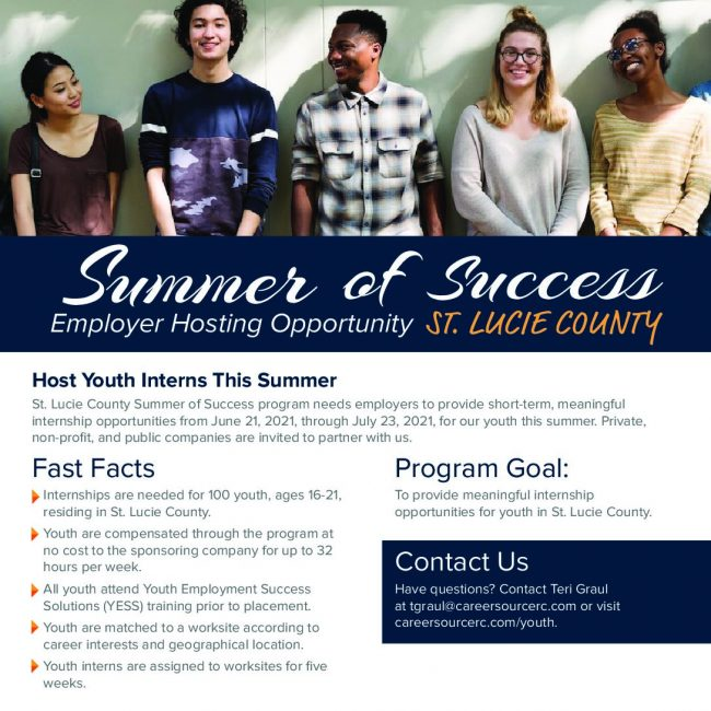 Summer of Success – St Lucie County